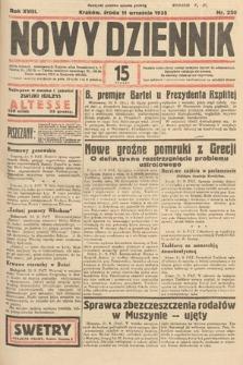 Nowy Dziennik. 1935, nr250