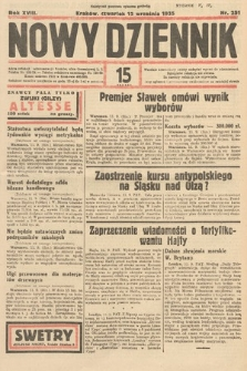 Nowy Dziennik. 1935, nr251