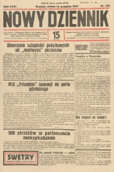 Nowy Dziennik. 1935, nr252