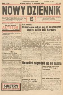 Nowy Dziennik. 1935, nr253