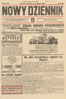 Nowy Dziennik. 1935, nr260