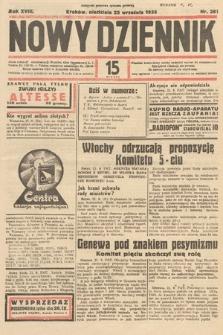 Nowy Dziennik. 1935, nr261