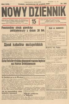 Nowy Dziennik. 1935, nr262