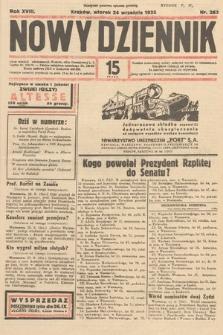 Nowy Dziennik. 1935, nr263