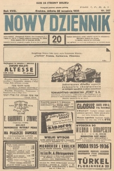 Nowy Dziennik. 1935, nr267