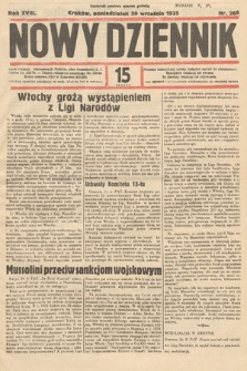 Nowy Dziennik. 1935, nr268