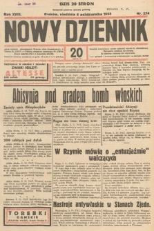 Nowy Dziennik. 1935, nr274