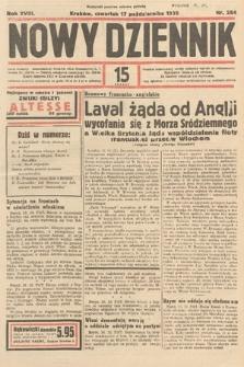 Nowy Dziennik. 1935, nr284