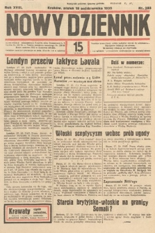 Nowy Dziennik. 1935, nr285