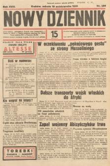 Nowy Dziennik. 1935, nr286