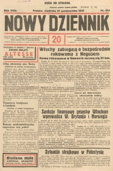 Nowy Dziennik. 1935, nr294