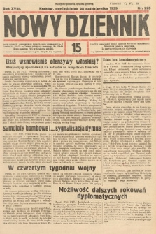 Nowy Dziennik. 1935, nr295