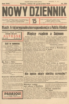 Nowy Dziennik. 1935, nr296