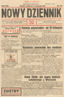Nowy Dziennik. 1935, nr301