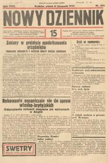 Nowy Dziennik. 1935, nr306