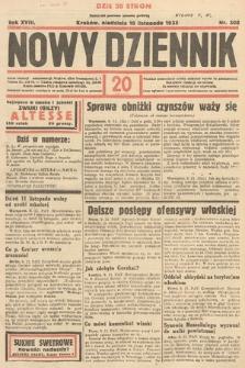 Nowy Dziennik. 1935, nr308
