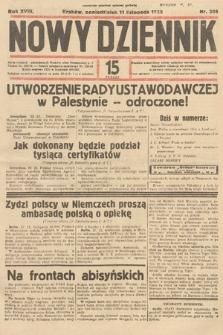 Nowy Dziennik. 1935, nr309
