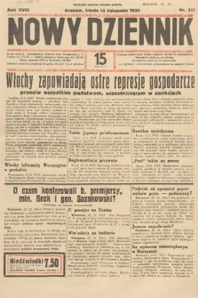 Nowy Dziennik. 1935, nr311