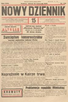 Nowy Dziennik. 1935, nr314