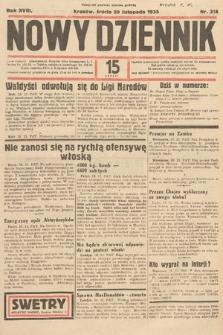 Nowy Dziennik. 1935, nr318