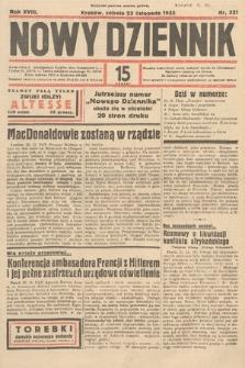 Nowy Dziennik. 1935, nr321