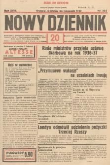Nowy Dziennik. 1935, nr322