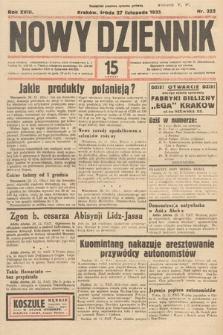 Nowy Dziennik. 1935, nr325
