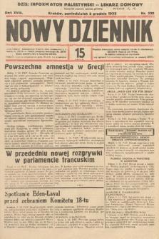 Nowy Dziennik. 1935, nr330