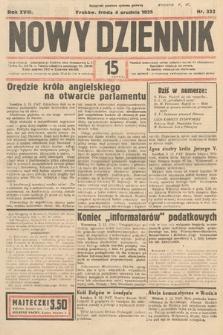 Nowy Dziennik. 1935, nr332