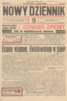 Nowy Dziennik. 1935, nr334
