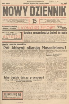 Nowy Dziennik. 1935, nr338