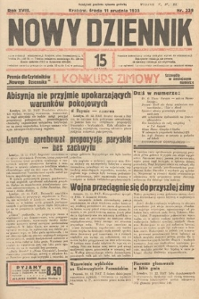 Nowy Dziennik. 1935, nr339