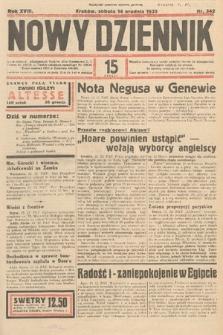 Nowy Dziennik. 1935, nr342