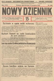 Nowy Dziennik. 1935, nr344