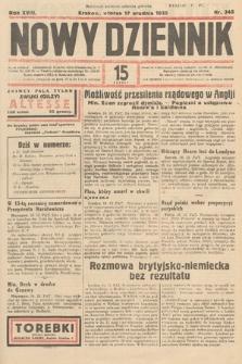 Nowy Dziennik. 1935, nr345