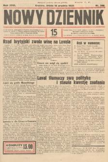 Nowy Dziennik. 1935, nr346