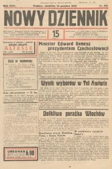 Nowy Dziennik. 1935, nr347