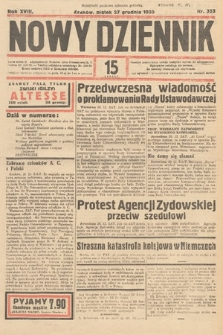 Nowy Dziennik. 1935, nr353