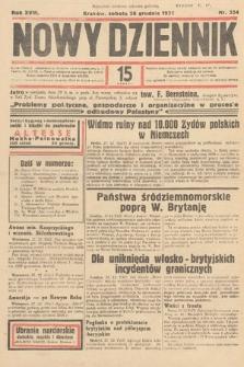Nowy Dziennik. 1935, nr354