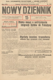 Nowy Dziennik. 1935, nr356