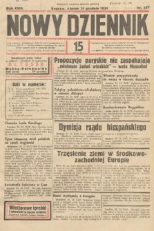 Nowy Dziennik. 1935, nr357
