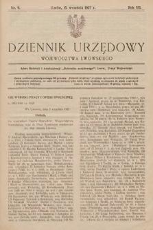Dziennik Urzędowy Województwa Lwowskiego. 1927, nr9
