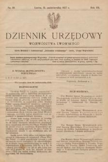 Dziennik Urzędowy Województwa Lwowskiego. 1927, nr10