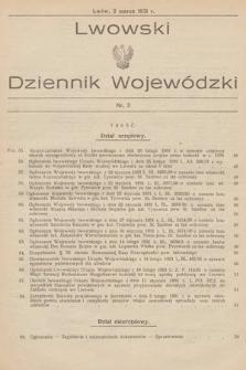 Lwowski Dziennik Wojewódzki. 1931, nr3