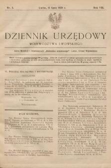 Dziennik Urzędowy Województwa Lwowskiego. 1928, nr3
