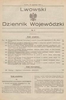 Lwowski Dziennik Wojewódzki. 1931, nr8