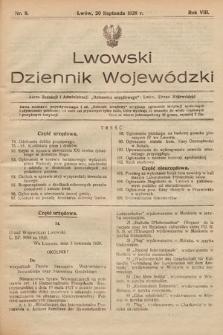 Lwowski Dziennik Wojewódzki. 1928, nr8