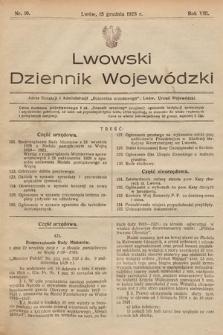 Lwowski Dziennik Wojewódzki. 1928, nr10