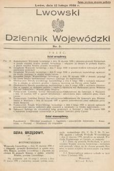 Lwowski Dziennik Urzędowy. 1938, nr3