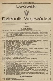 Lwowski Dziennik Wojewódzki. 1929, nr21